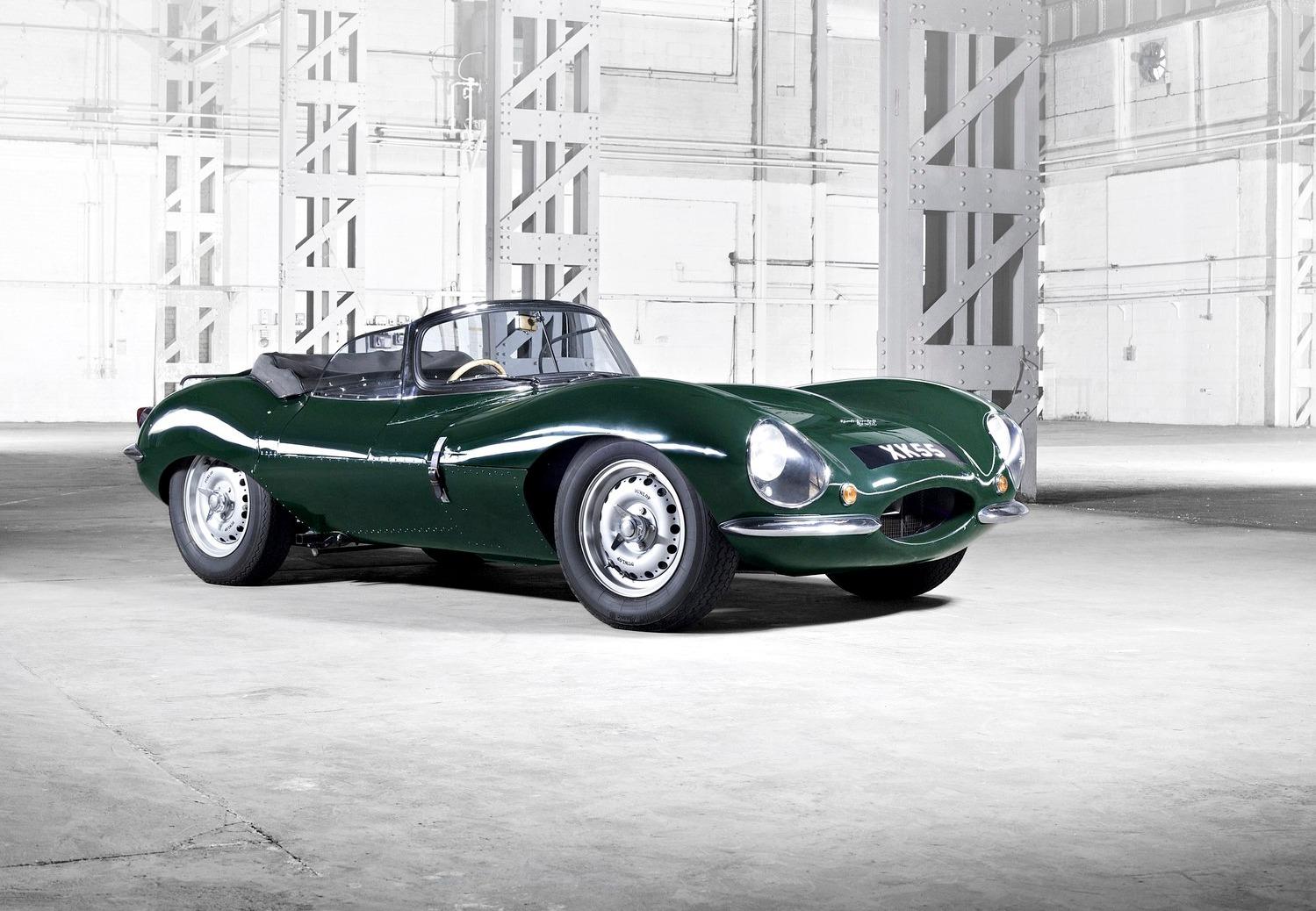 Jaguar XKSS nagebouwd