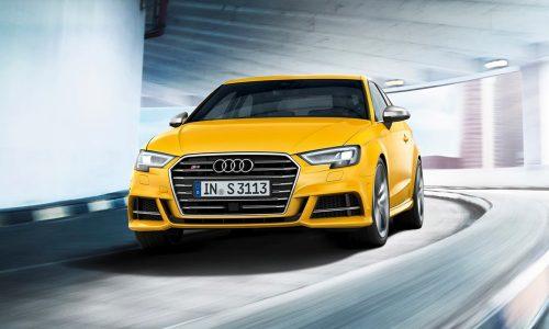 Facelift Audi A3