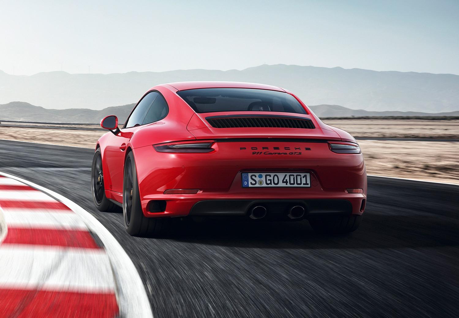 Nieuwe Porsche 911 GTS