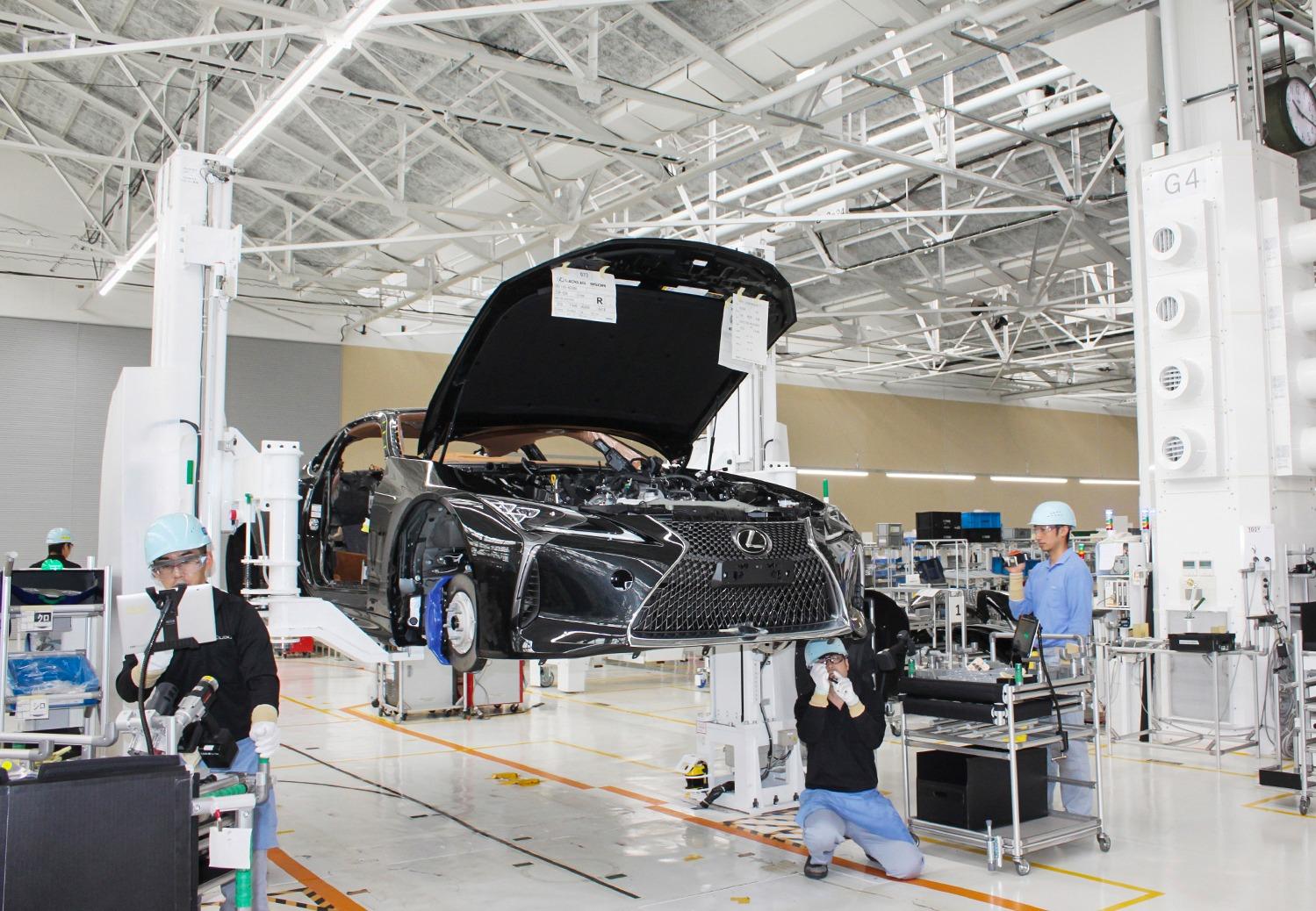 Lexus start productie LC