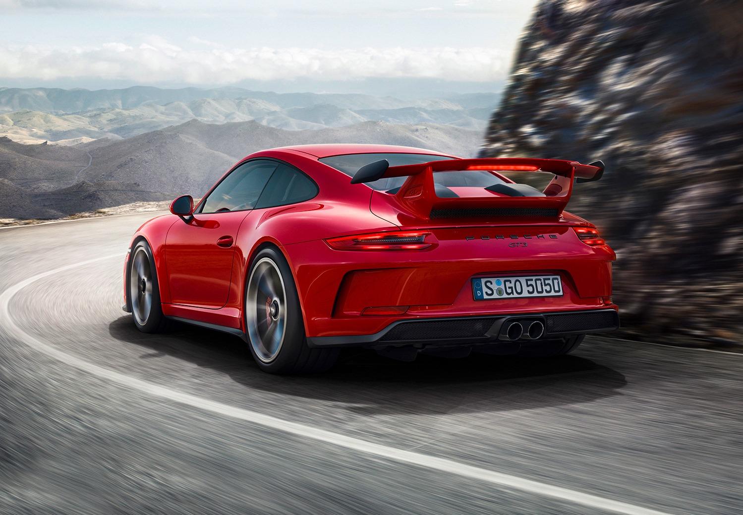 Nieuw record Porsche 911 GT3