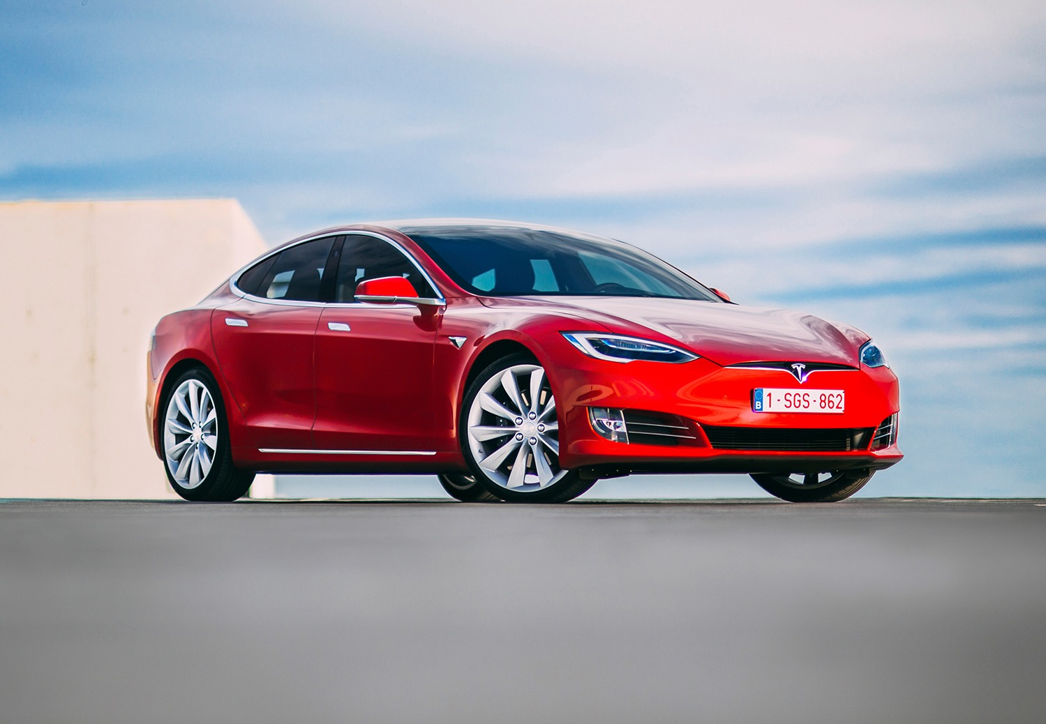 Rijtest: Tesla Model S 100D