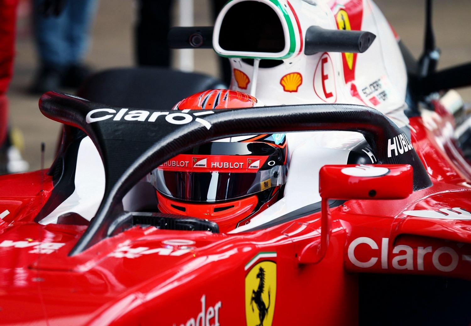 F1 verplicht Halo-hoofdbescherming