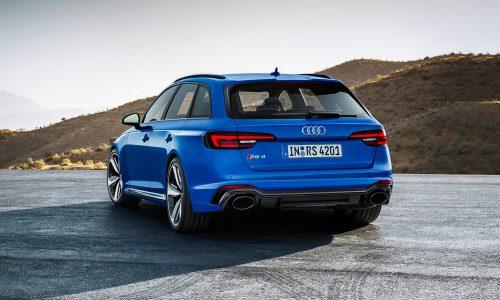 Nieuwe Audi RS 4