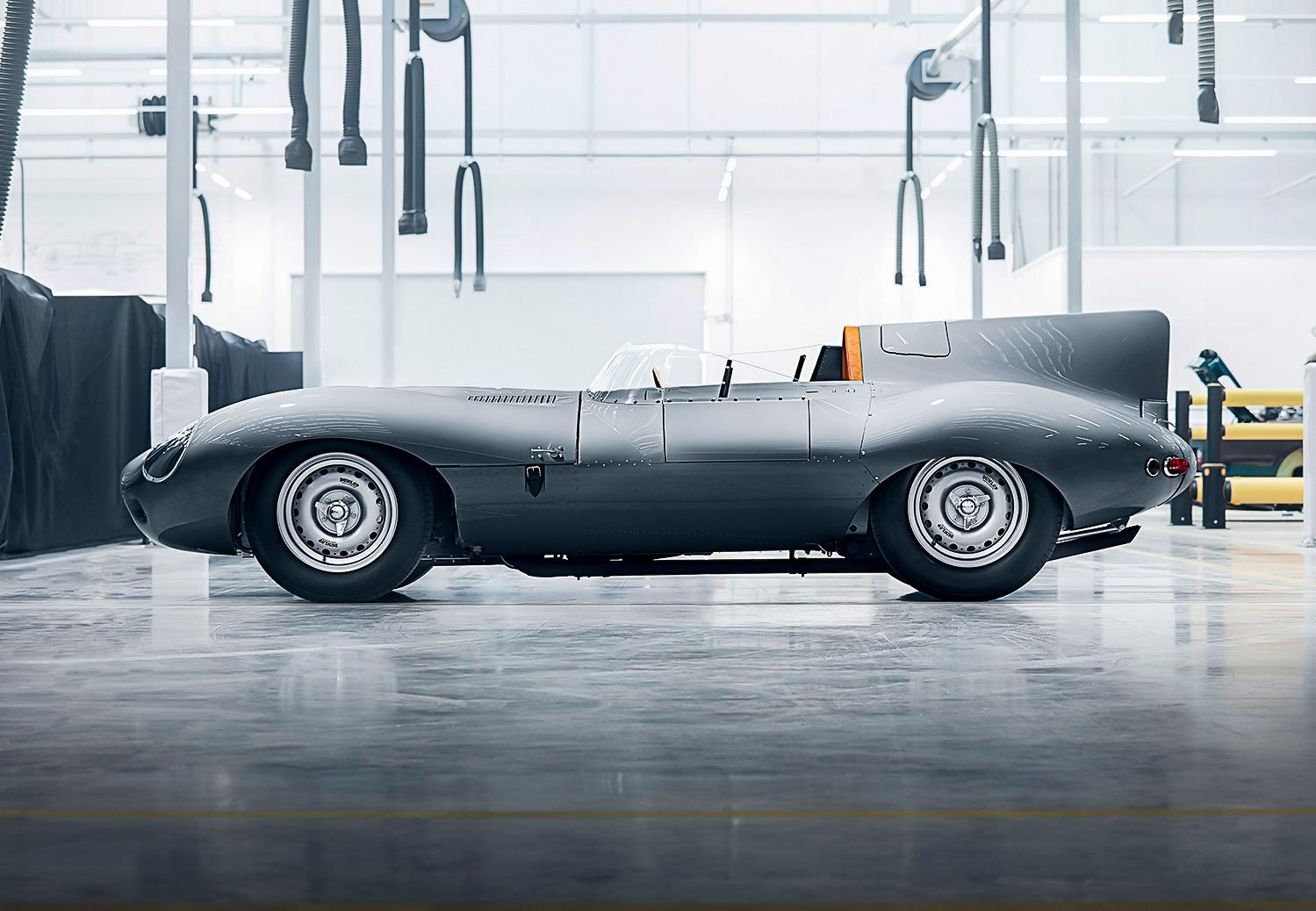 Jaguar D-Type weer in productie