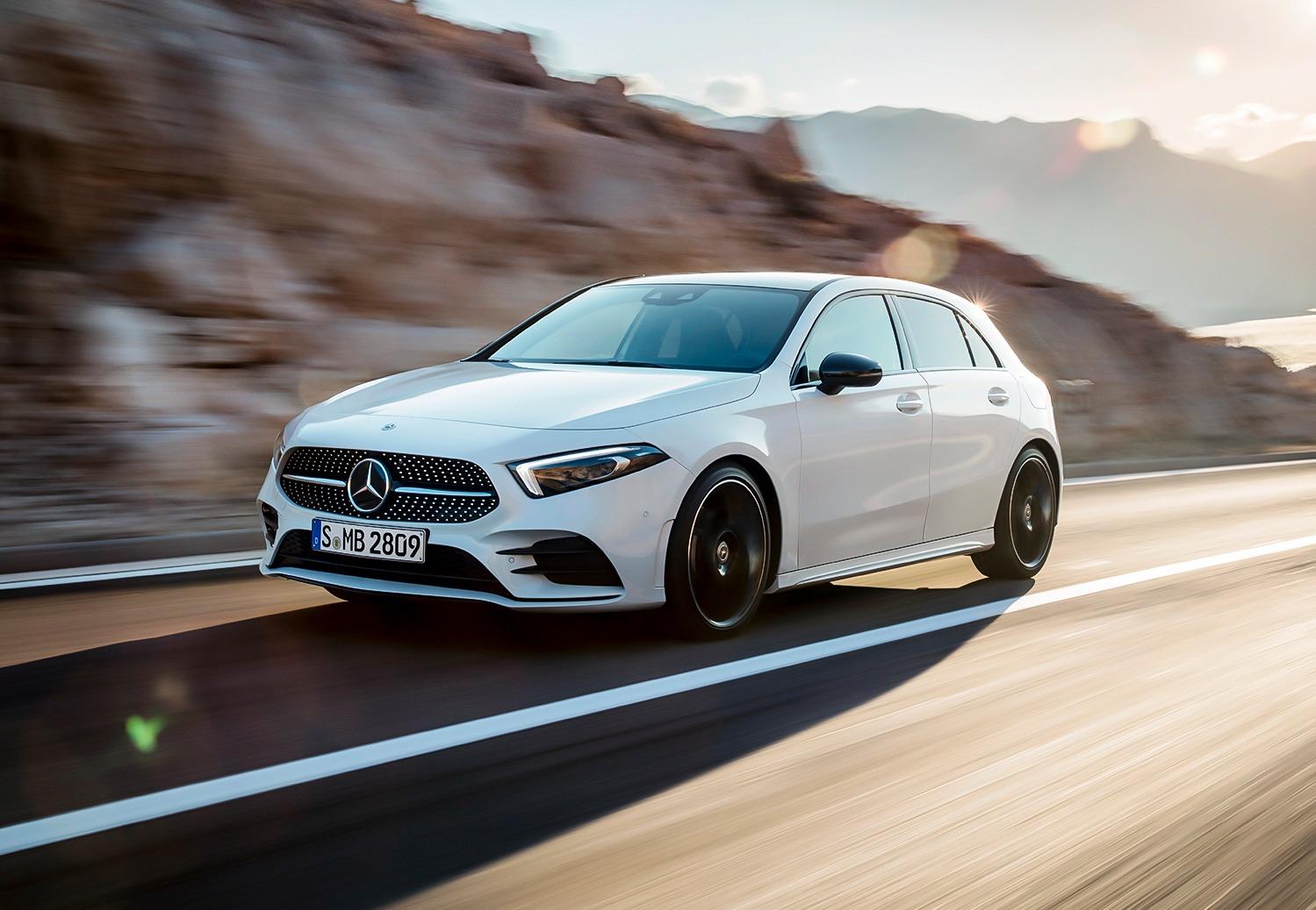 Nieuwe Mercedes-Benz A-Klasse