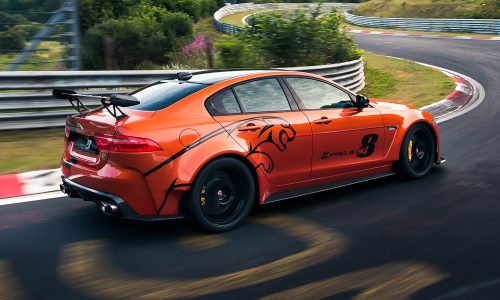 Eindfase Jaguar XE SV Project 8