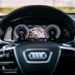 Audi A7 Sportback 2018 steering wheel