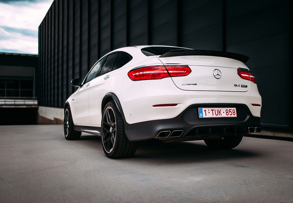 Mercedes-AMG GLC 63 S Coupé rear