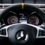 Mercedes-AMG GLC 63 S Coupé steering wheel