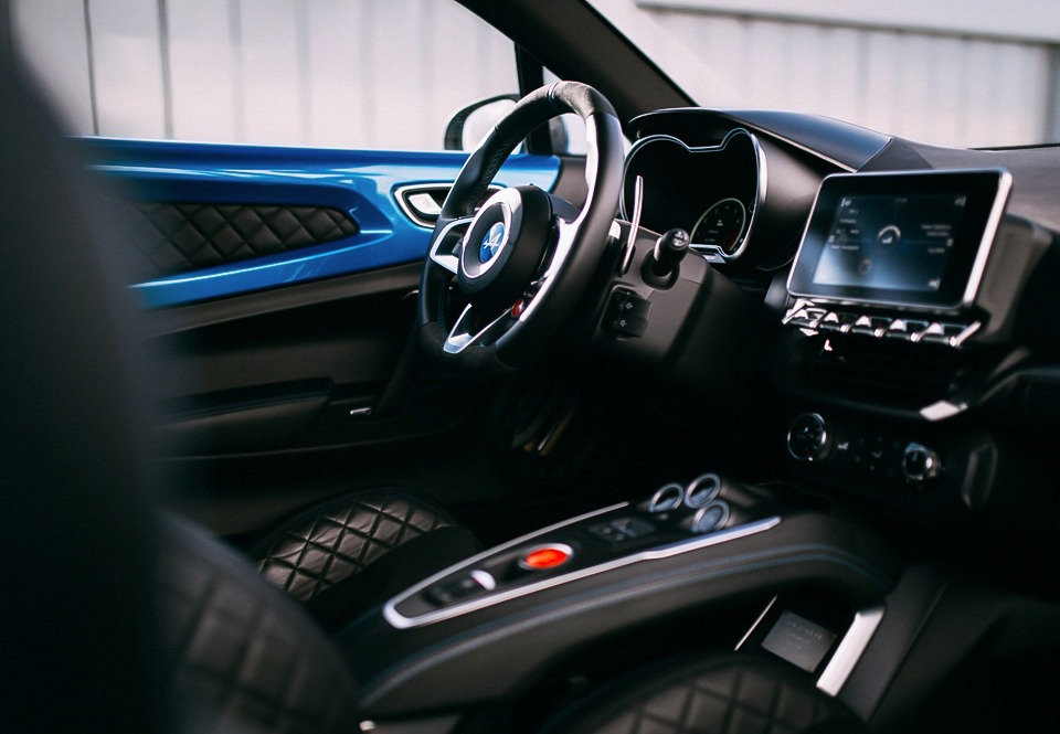 Alpine A110 interior