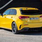Mercedes-AMG A 35 rear