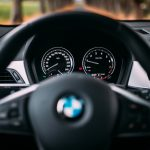 BMW X2 steering wheel