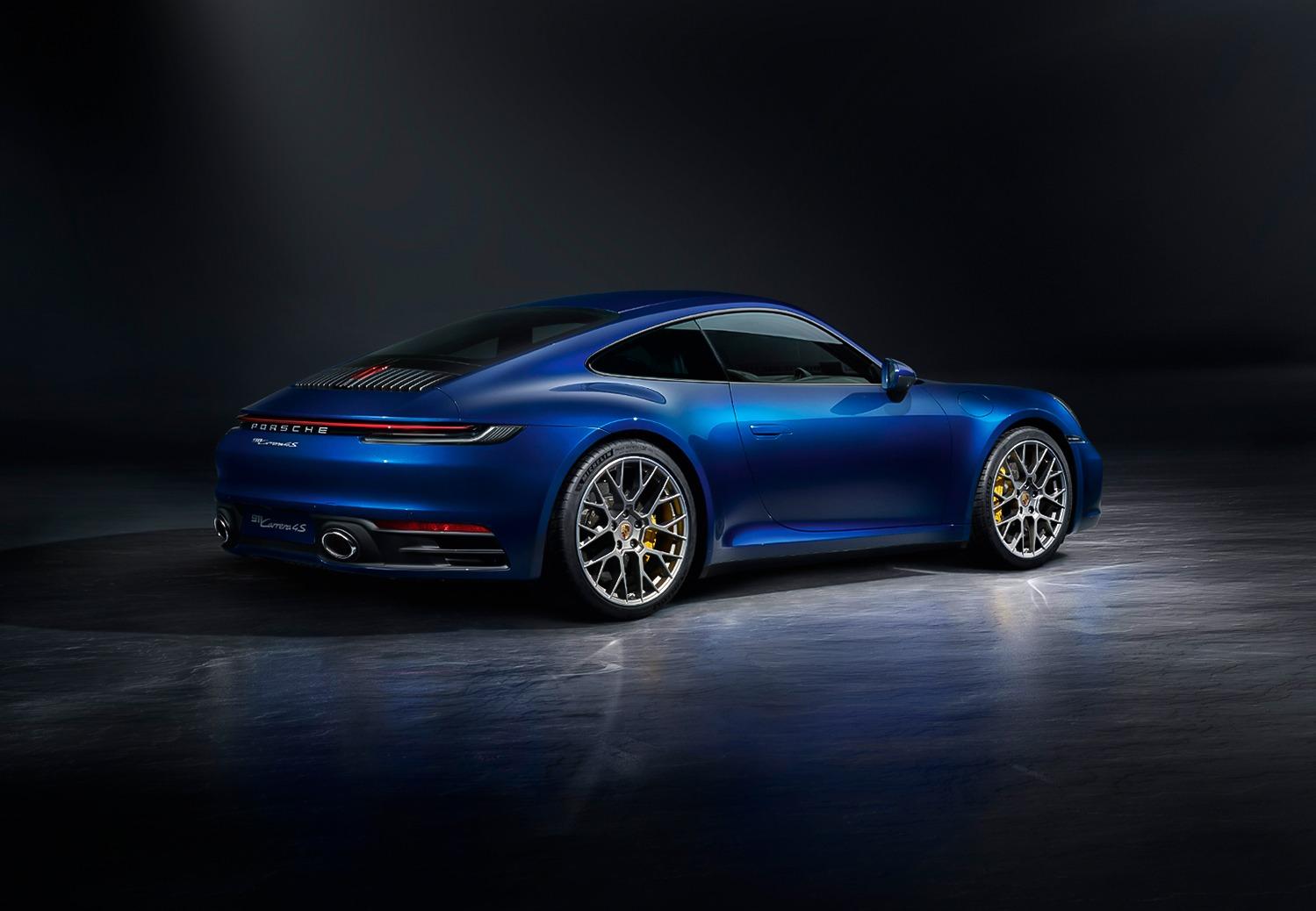 Nieuwe Porsche 911 (992)