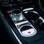 Jaguar XJR 575 shifter