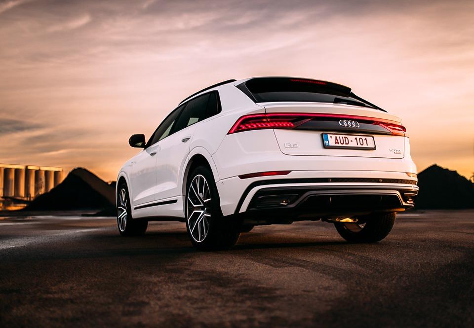 Audi Q8 2018 achterkant
