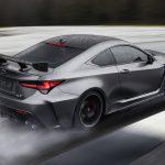Lexus RC F Track Edition 2020 achterkant