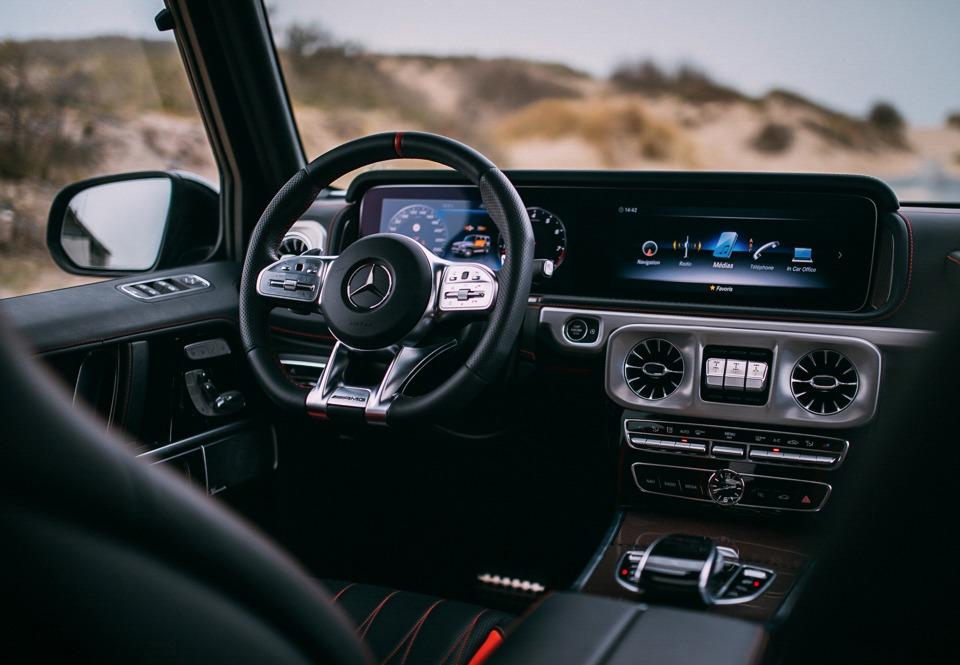 Mercedes-AMG G 63 interior