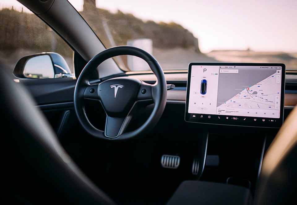 Tesla Model 3 Performance interieur