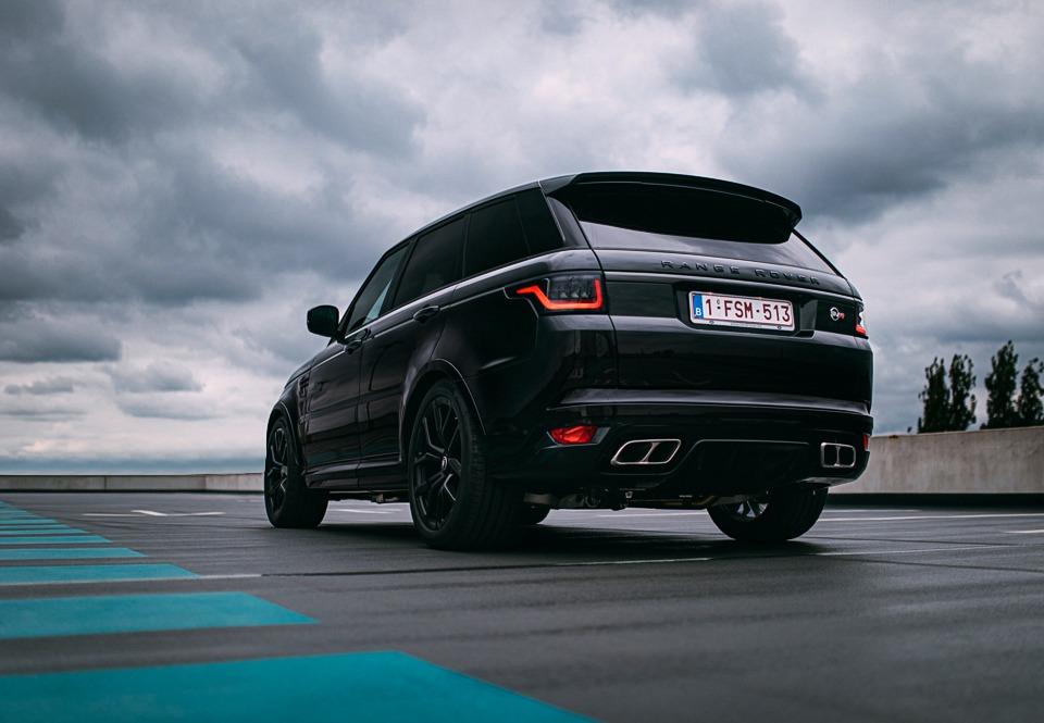Range Rover Sport SVR achterkant