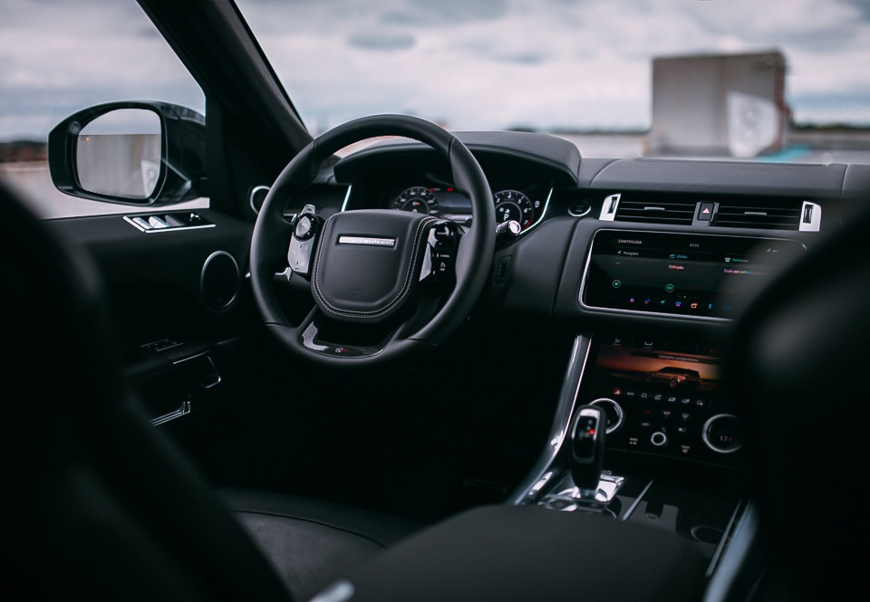 Range Rover Sport SVR interieur