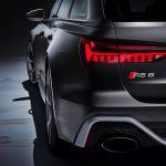 Audi RS6 Avant 2020 achterkant