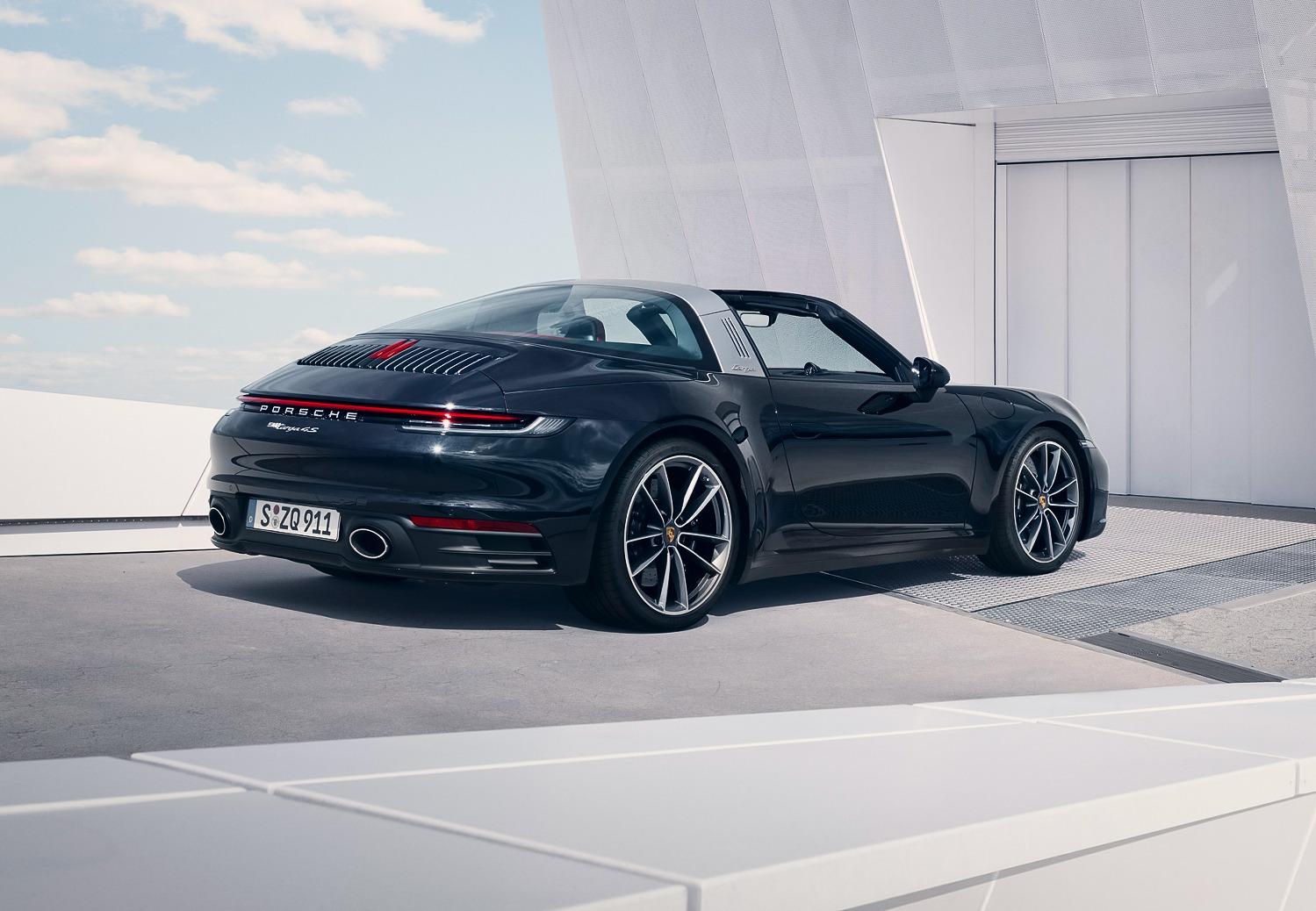 Nieuwe Porsche 911 Targa (2020)