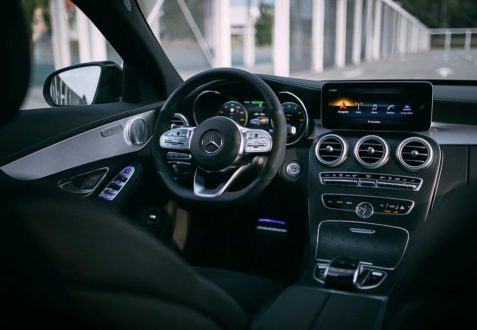 Mercedes C300de interieur