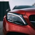 Mercedes C300de licht