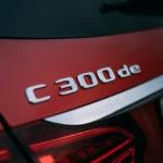 Mercedes C300de logo
