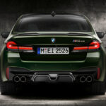 BMW M5 CS rear