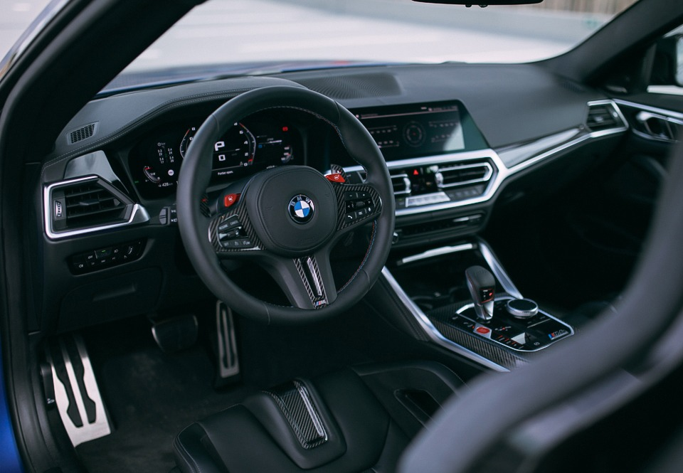 BMW M4 Competition interieur