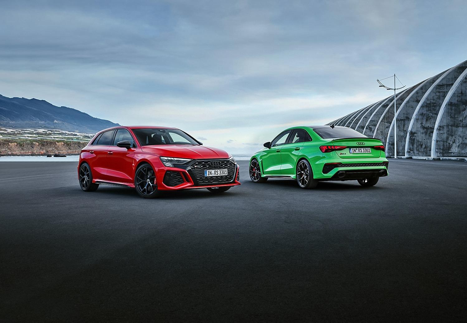 Nieuwe Audi RS3 (2021)